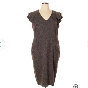 Lined Work Dress